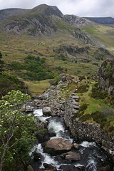 Snowdonia, North Wales, UK (Wilamoyo) Tags: park trees mountains green grass stone wales landscape countryside waterfall scenery rocks view rocky dry hills national walls snowdonia