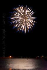 Bodega Bay Firework (jurphotographer) Tags: blue reflection water northerncalifornia bay fireworks celebration nighttime fourthofjuly burst independenceday celebrate bodegabay
