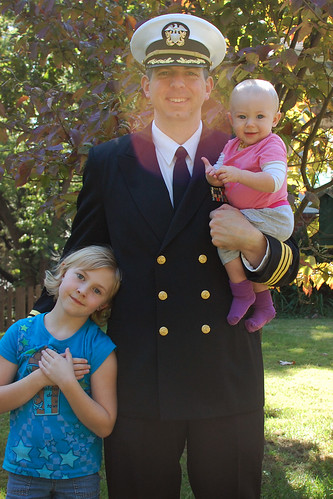 CMDR Gronberg and his girls