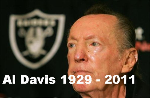 Al Davis - Great Oakland Raiders Owner Dies - RIP
