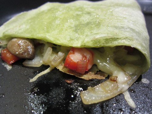 Vegetable Quesadilla's