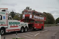 LT RM2112 (CUV112C) A1, ST NEOTS 081011 (David Beardmore) Tags: routemaster derelict parkroyal londontransport londonbuses aec londoncentral associatedequipmentcompany rm2112 cuv112c