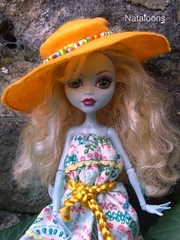Monster High Afternoon Tea - Lagoona (Nataloons) Tags: blue party paris fashion monster by high doll tea mattel lagoona louos souol lagoonablue monsterhigh