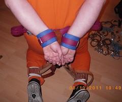 Bondage 5 (bondagehaj) Tags: mask bondage hood prisoner inmate humane restraint segufix