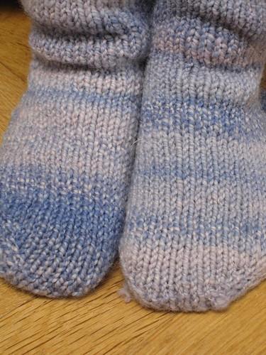 Handspun Boo socks