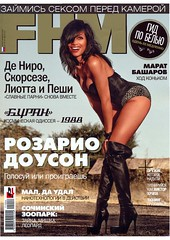 Sexy Rosario Dawson FHM Russia Photoshoot pictures & video