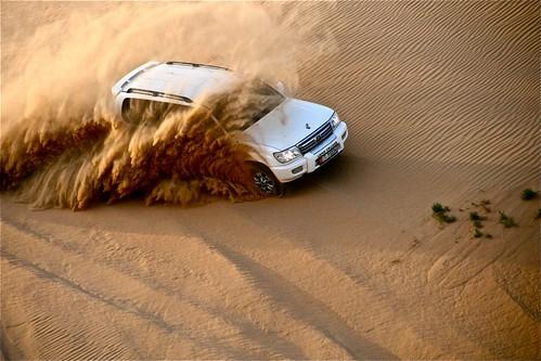 Dune Bashing  - Photo by Rezza Sardovia