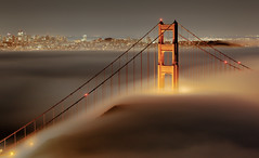 (exxonvaldez) Tags: fog night goldengatebridge marinheadlands slackerhill