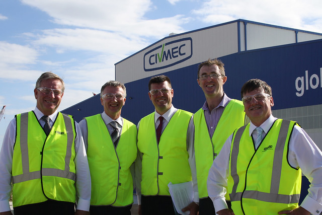 CIVMEC Warehouse opening 2011