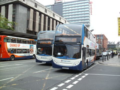 19468, Manchester, 16/09/11 (aecregent) Tags: manchester stagecoach 109 19468 enviro400 stagecoachmanchester 160911 mx58vbj