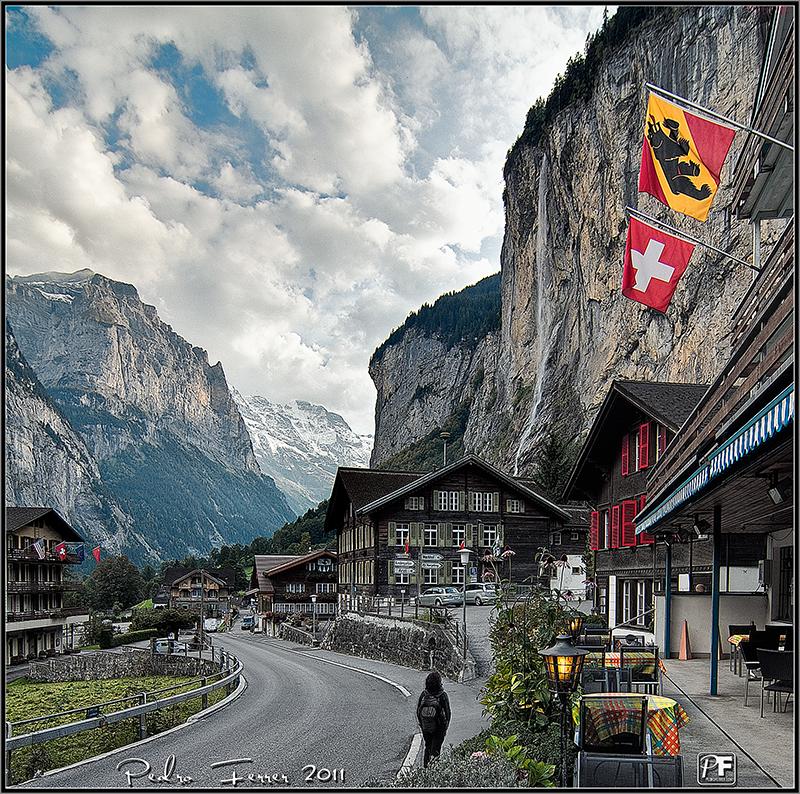 Suiza - El pais de las cascadas - Lauterbrunnen - Staubbachfälle