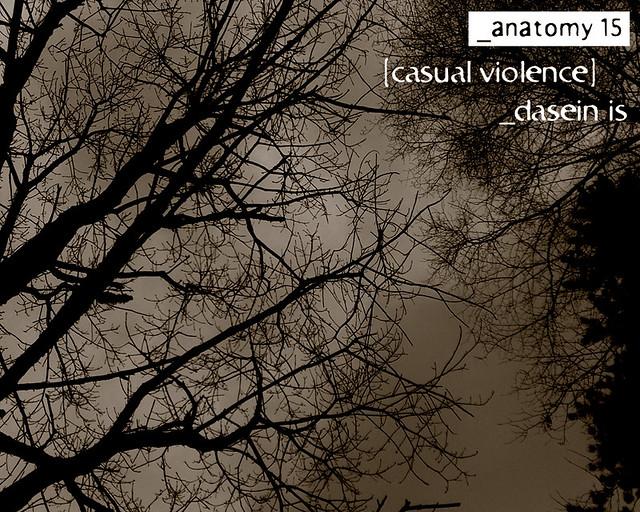 casual violence - anatomy 15