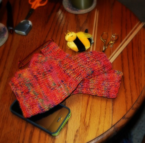 Mander's Fingerless Mitts by BeverlyDiane