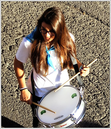 The Girl of the Drum