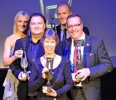 Samtliga vinnare: OV Beachhandbollsturnering, Bodil Mårtensson, Gert Hanner och Helsingborgs IF