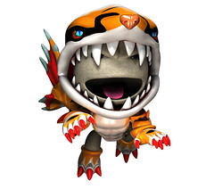invizimals Shadow Zone Costumes: Tigershark