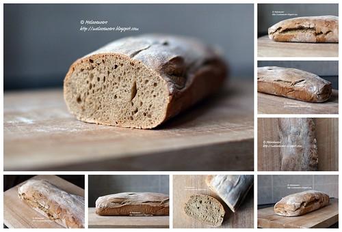 pane di frumento e segale