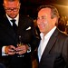 Chef Daniel Boulud (right) and Festival co-founder David Bernahl