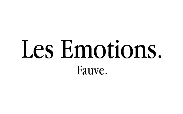 Les Emotions par Fauve