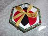 Caixa forrada e recheada com trufas (Line Artesanatos) Tags: trufas caixaforrada patchworkembutido