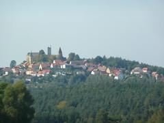 Ruins of Castle Leuchtenberg above Leuchtenberg