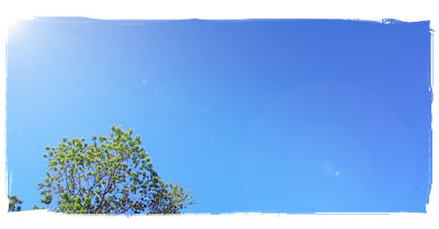 Bright Blue Perth Sky