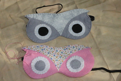 2 sleep masks