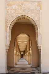 follow the lines (..Ania.) Tags: door morocco casablanca converginglines hassaniimosque 111pictures86converginglines