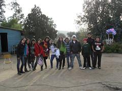 Participantes taller Teatro  jóvenes Hito