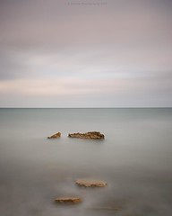 s i l e n c e (Scott Howse) Tags: uk longexposure sea england sky seascape landscape coast rocks minimal lee dorset filters graduated nd110 09h