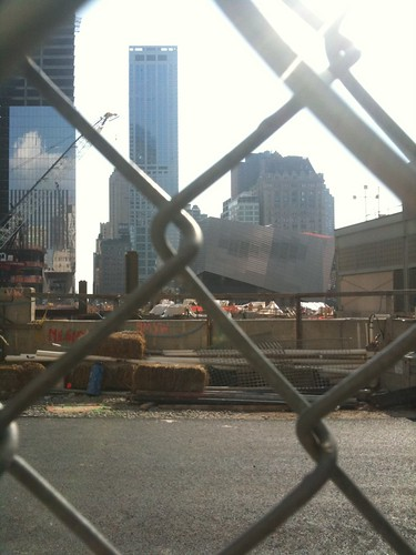 9/11 Memorial Museum, Ground Zero under construction