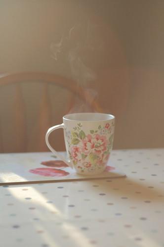 sunlit tea