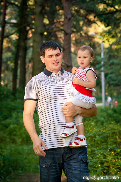 София. Летняя семейная фотосессия