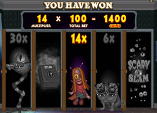 Monsters in the Closet Bonus Game