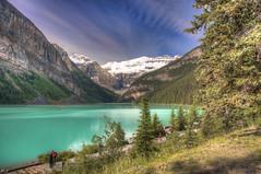 Lake Louise (Fil.ippo) Tags: lake louise alberta canada banff national park parco nazionale lago hdr filippo d5000 smeraldo filippobianchi