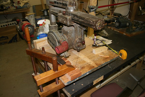 Dowel Cutting Rig