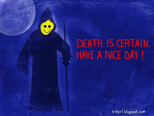 A Message From The Smiley Reaper