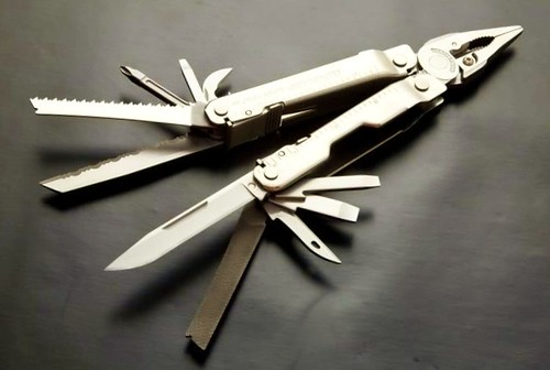 Leatherman Super Tool 300 (Stainless Steel) Multi-Tool with Sheath
