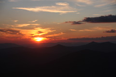 NC - Blue Ridge Parkway - Cowee Mountain Overlook Sunset (scott185 (the original)) Tags: sunset nc northcarolina blueridgeparkway coweemountainoverlook milepost4307