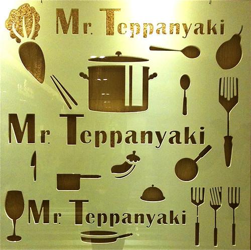 Mr Teppanyaki sign
