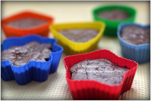 tortine al cioccolato e frutta secca