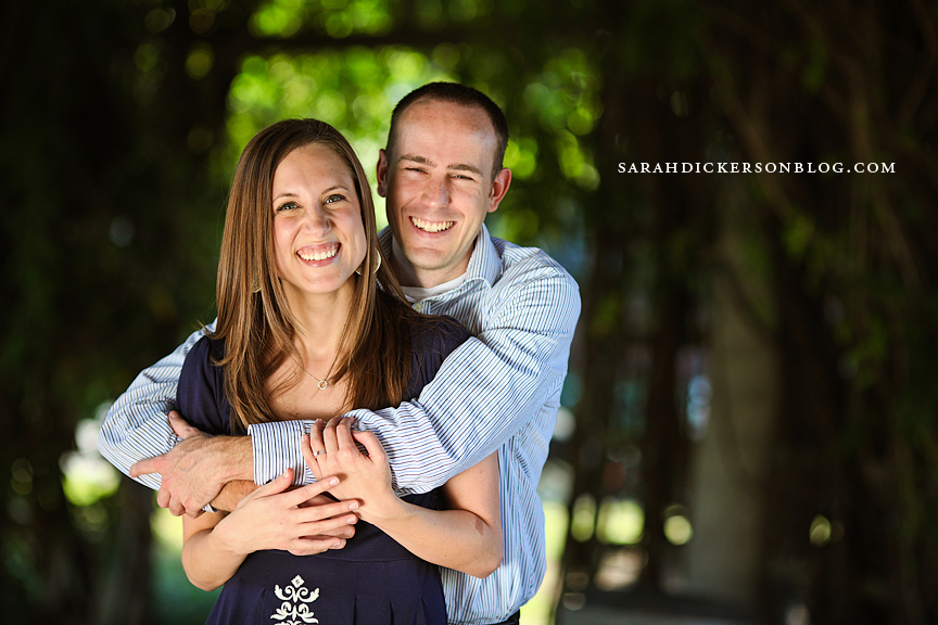 Country Club Plaza Kansas City engagement photography