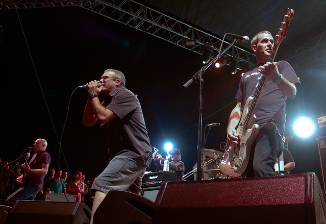 The Descedents performing at Fuck Yeah Fest 2011.
