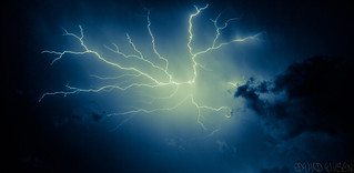 Electric Thunder Energy Storm