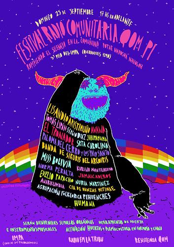 festival radio comunitaria qom pi by elterrordevalentino