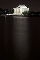 The Jefferson Memorial (WilliamMarlow) Tags: longexposure nightphotography washingtondc dc washington nikon uscapitol cc creativecommons dcist jeffersonmemorial 55200 d7000