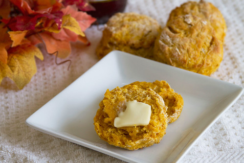Pumpkin Biscuits - 5