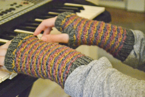 handwarmers on the keys