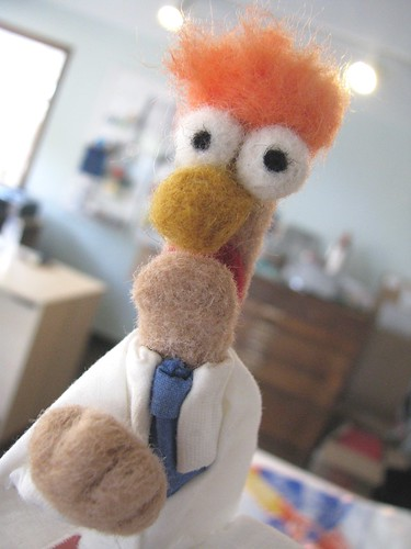 Needle Felted Beaker From RadMegan