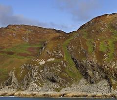Colourful Rock Formations on Jura (dun_deagh) Tags: rock landscape coast scotland innerhebrides scottish jura coastline hebrides rockformation lordoftheisles corryvreckan gulfofcorryvreckan colorfulrockformation jurarockformation colourfulrockformation